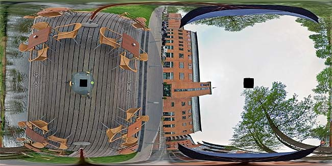 remapped panorama